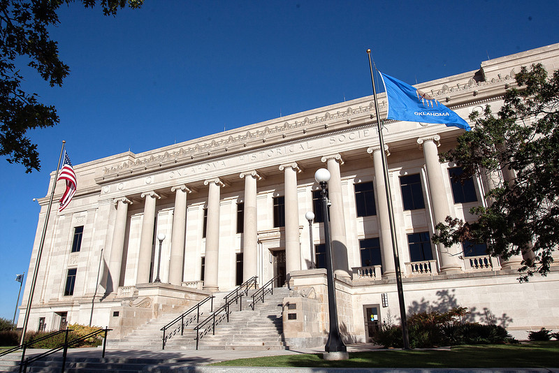 Oklahoma Supreme Court building.