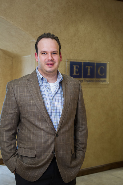 Garret Stevens, owner of Exchange Traded Concepts in Edmond.