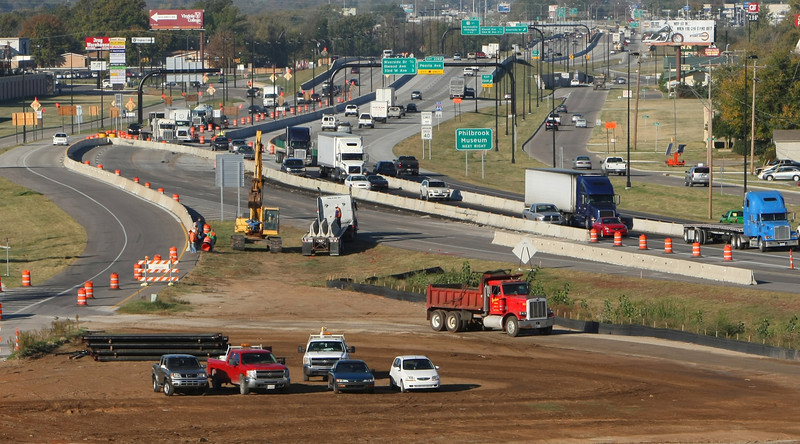 File Art of the I-44 Widening project in Tulsa.