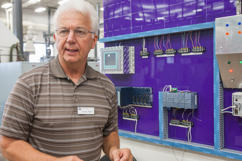Danny Ware is an instructor of Advance Manufacturing at Francis Tuttle Technolgy Center.