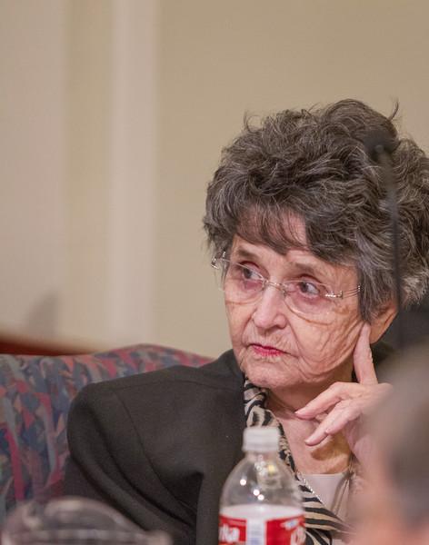 Francis Minter, widow of Claremore veteran Jay Minter