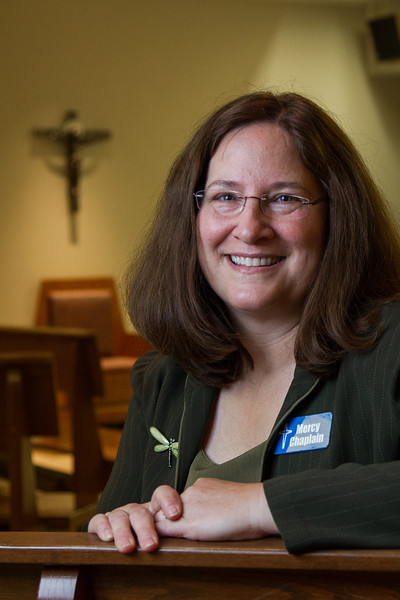 Rev. Beverly Powell is a chaplin at Mercy Hospital.