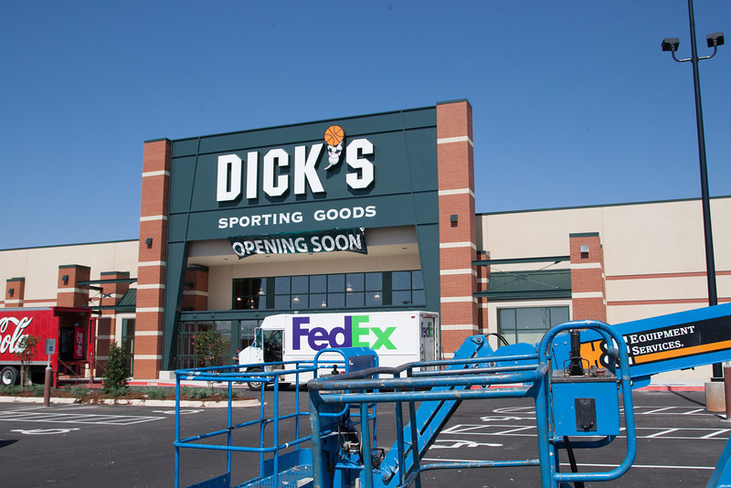 Dick's Sporting Goods is opening soon in Westgate Marketplace shpping center.