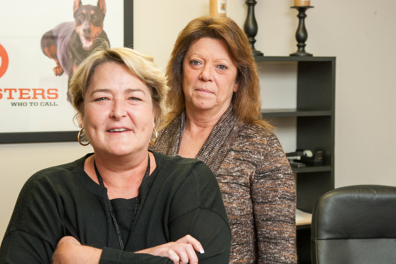 Gina Laboeuf and Denise Evens of A-1 Bail Bonds.