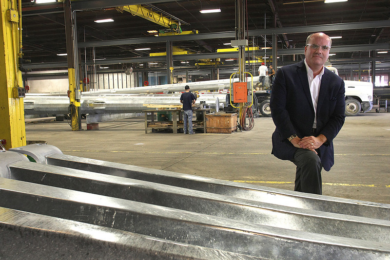 Phil Albert, President of Pelco Structural in Claremore.