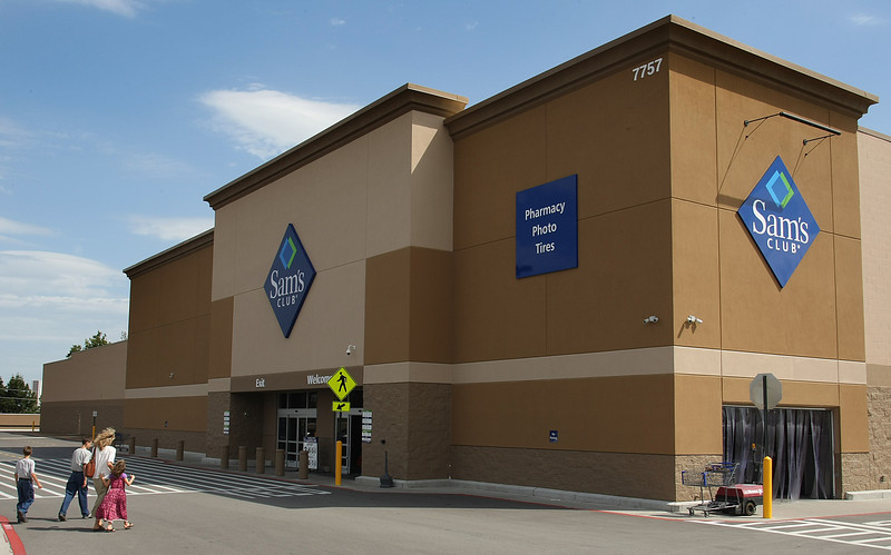 The newest Sam's Club at the Tulsa Hill Shopping center in Tulsa.