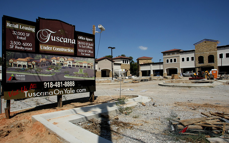 The Tulsa Metropolitan Area Planning Commission will be will considering a site plan for the 3,400-square-foot Russo's Coal Fired Italian Restaurant at the Tuscana on Yale shopping center.