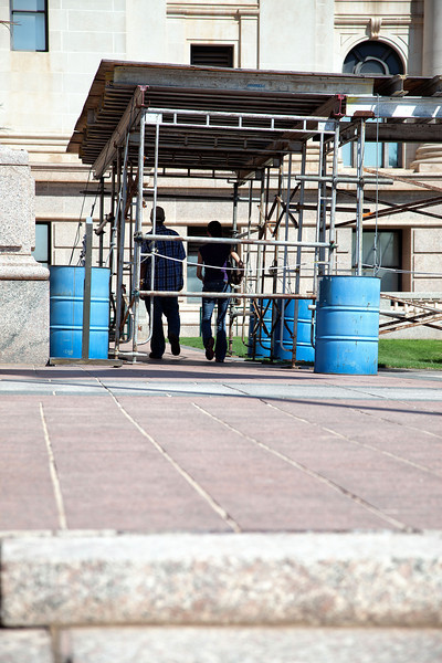 State lawmakers met today to study what repairs are needed to the state capitol.