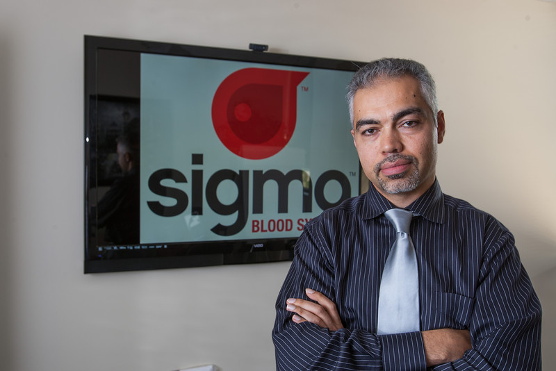Max Doleh is the owner of Sigma Blood. A software company that specializes in working with blood banks.