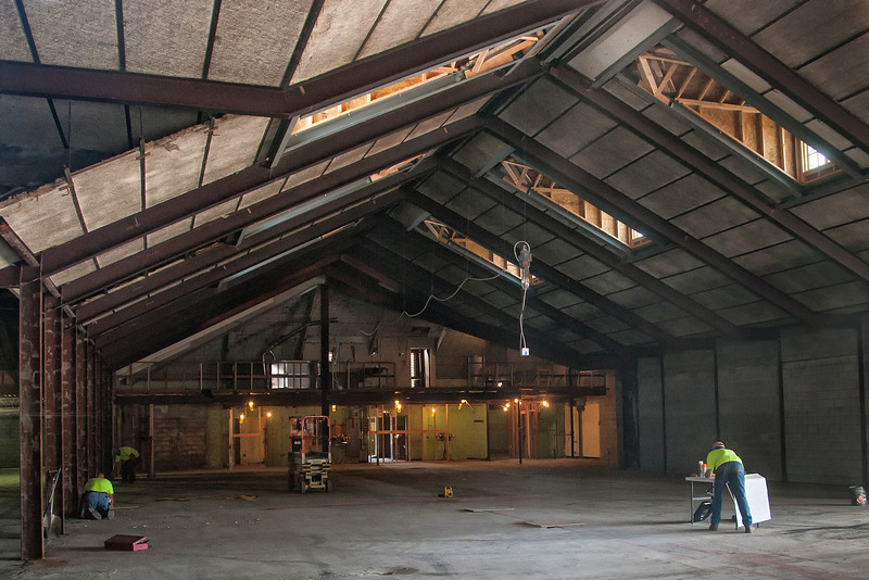 Construction of the new Nichols Hills Market has begun in the building where Cresent Market used to be.