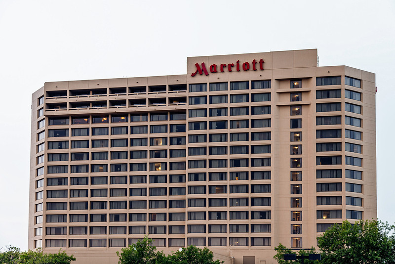 The Marriot Hotel on Northwest Expressway.