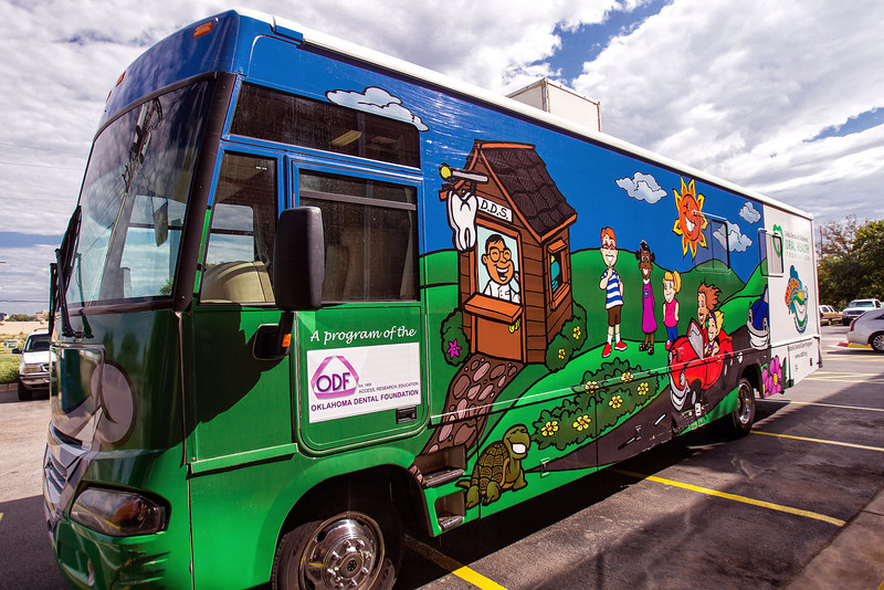 The Mobile Dental truck will bring needed dental care to directly to patients who need it.
