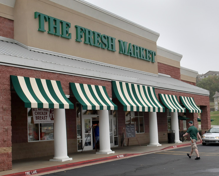 The Fresh Market grocery store at 8015 S. Yale in Tulsa.