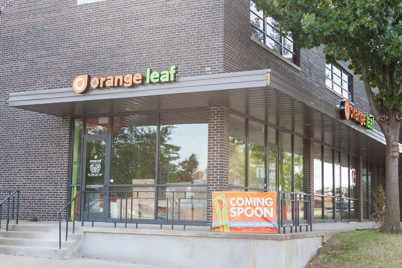 A new Ornage Leaf location is preparing to open at NW 23rd and Dewey in OKC.