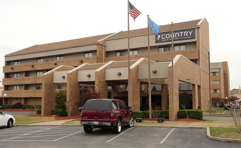 The Country Inn & Suites in Tulsa.