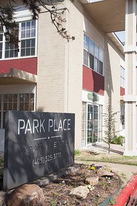 Park Place Apartments on NE 28th Street in Oklahoma City.