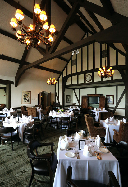 A dining room at the Tulsa Hills County Club.