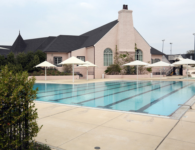 The pool at the Tulsa Hills County Club.