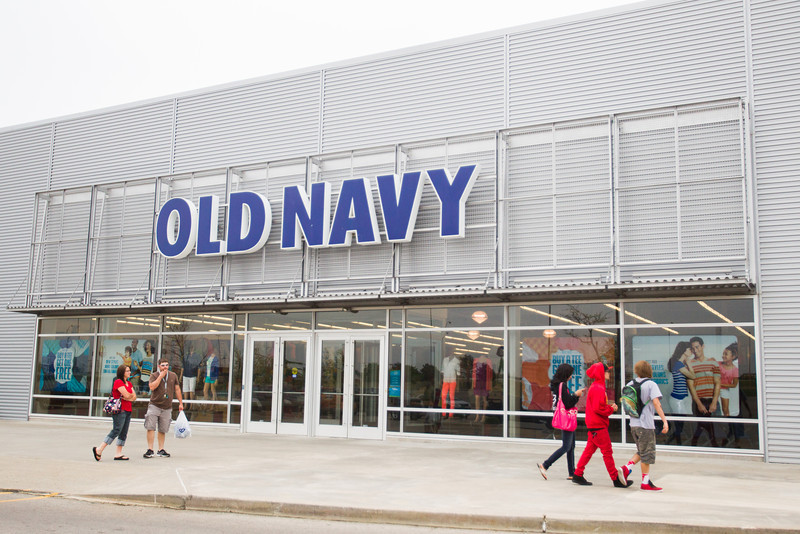 Old Navy at the Shawnee Mall in Shawnee, OK.