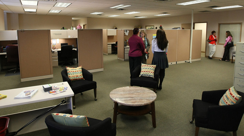 The Emergency Infant Services and the Parent Child Center of Tulsa recently opened their 5000sq. ft. shared space locoed in the Tech Ridge Office complex in east Tulsa.