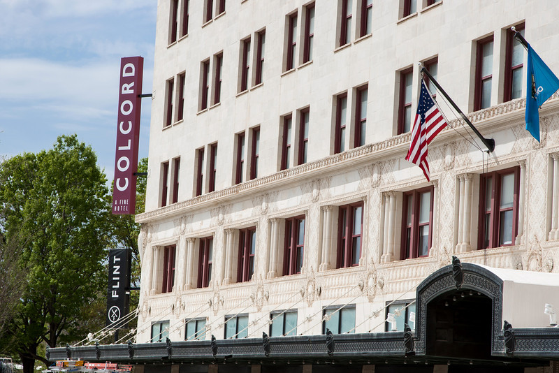 The Colcord Hotel in downtown Oklahoma CIty, OK.