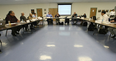 The Osage Tribe negotiated rule making committee meets in Pawhuska to address proposed changes in oil and gas laws in Creek County