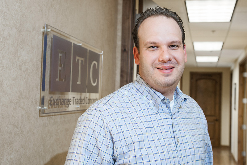 Garret Stevens, President of the Board Chairman of Exchange Traded Concepts in Edmond, OK