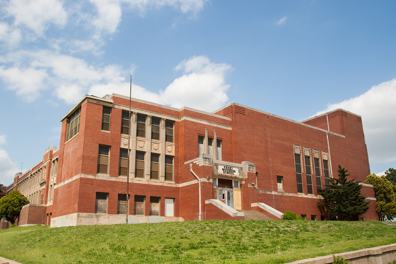 Douglas High School at 600 N High in Oklahoma City.