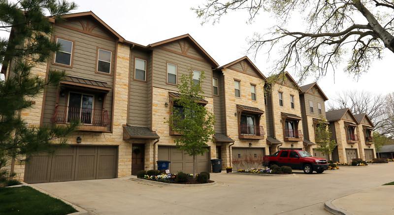 The Retreat at Brookside condominiums in midtown Tulsa.