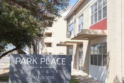 Park Place Apartments on NE 28th Street in Oklahoma City.