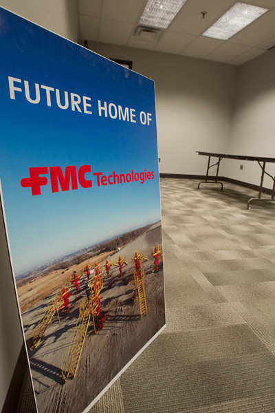 FMC Technologies is opening it's new office in the first floor of Corporate Tower in downtown Oklahoma City, OK.