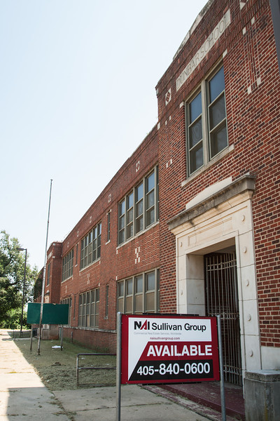 The Dunbar Elementry School building in Oklahoma CIty, OK.