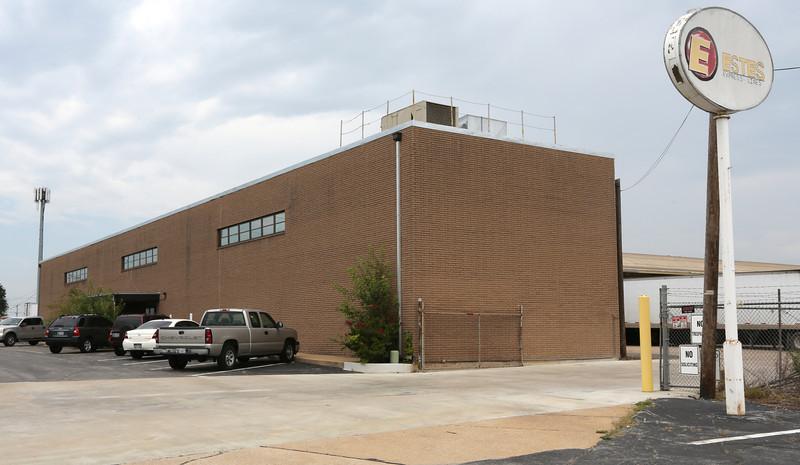 The Estes-Express trucking company in Tulsa.