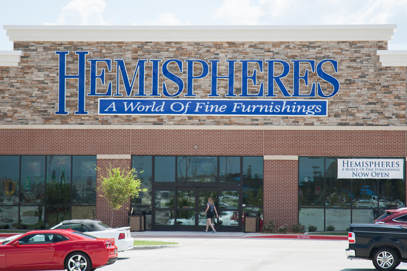 Hemisphere new location on 19th Street in Moore, OK.