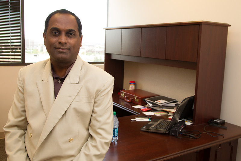 Dr. Kumar Sripathirathan, a toxicology consultenet with DRIK, LLC in Oklahoma City, OK.