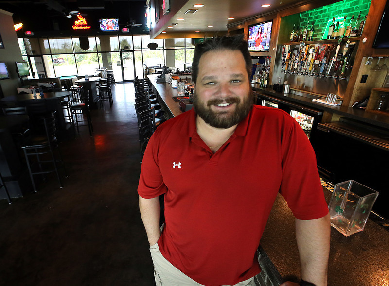 Co-owner of Jameson Pub, Donnie Gendron, pauses for  a photo at his Broken Arrow location.