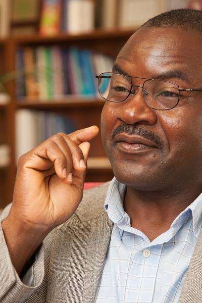 Prof. Aondover Tarhule, chairman of the geography and environmental sustainability department at the University of Oklahoma's College of Atmospheric and Geographic Sciences discusses the new major. Tarhule led a group to develop a master of science in environmental sustainability.