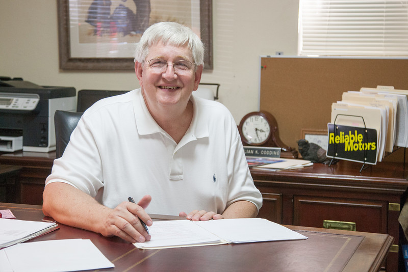 Julian Codding, owner of Reliable Motors in Oklahoma City, OK.