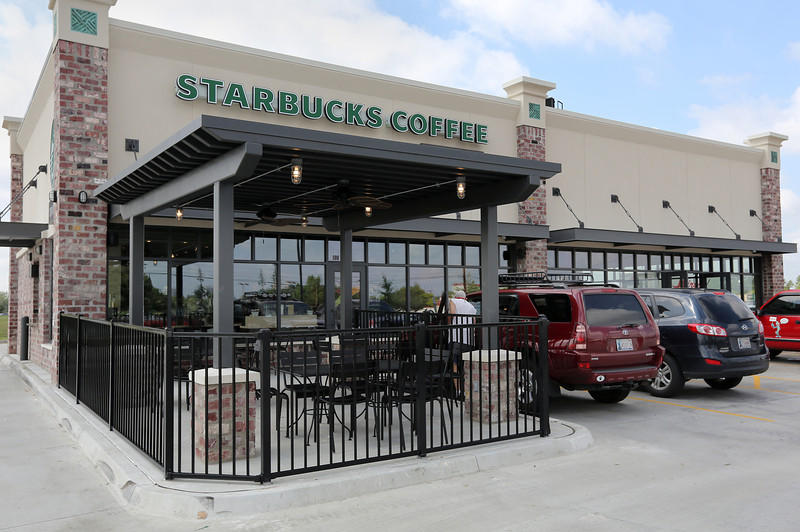 With its first Tulsa strip center nearly complete, Veritas Development Partners is pursuing plans to add two or more Starbucks-anchored retail centers in Oklahoma a year.