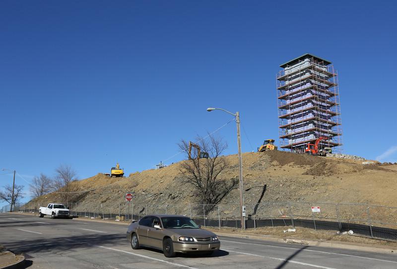 Early construction on OSU Tulsas Gateway Project.