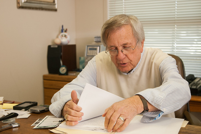 Lawyer and Oklahoma CIty Councilman Pete White at his law office in Oklahoma City, OK.