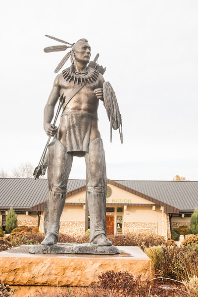 Chickasaw Nation Headquarters in Ada, OK.