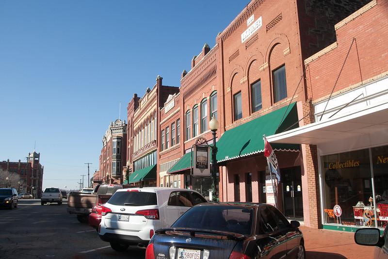 Downtown Guthrie, OK