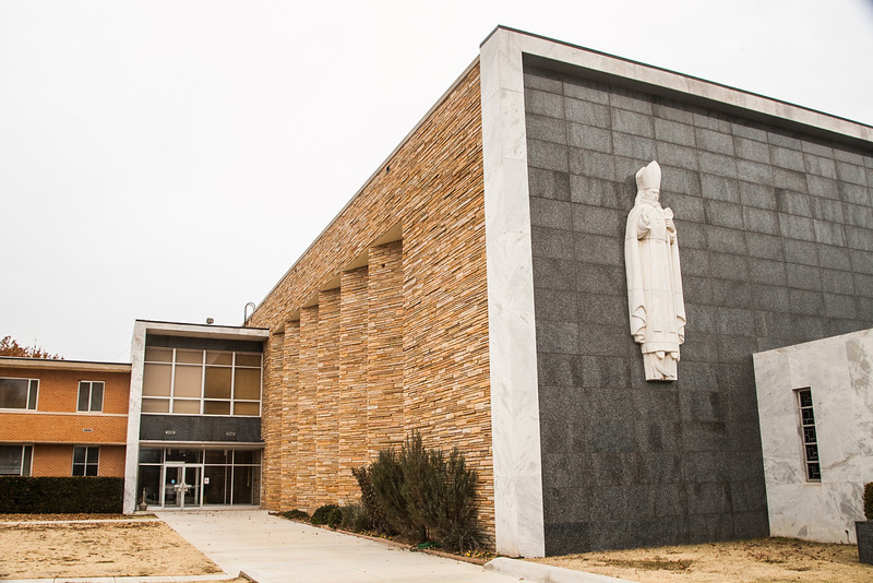 The Catholic Pastorial Center on Northwest Expressway in Oklahoma City, OK.