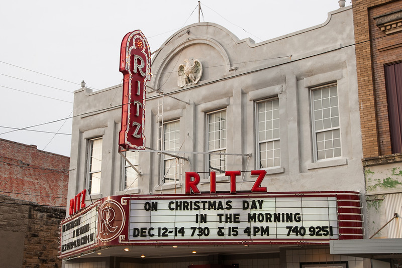 The Ritz Theater in Shawnee, OK.