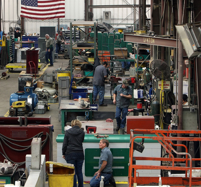 The shop floor at Evans Enterprises Tulsa location. <br /> <br /> *** They are Expanding****