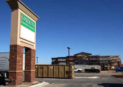 The Sprouts Farmers Market currently under construction in Bixby.