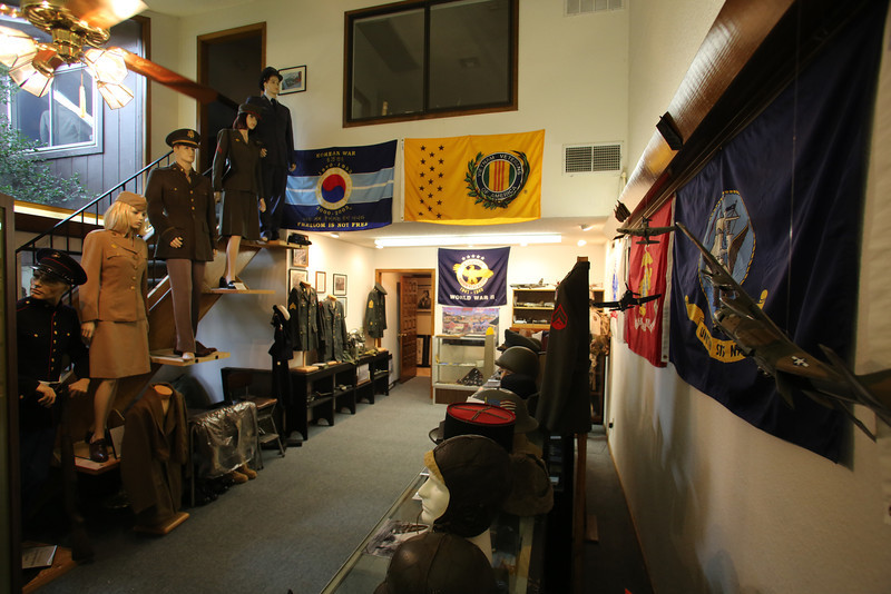The Military History Museum located at 6953 S. 66th East Ave in south Tulsa.