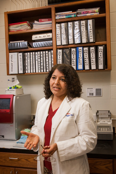Diabetes researcher Dr Dharambir Sanghera at OU-HSC.