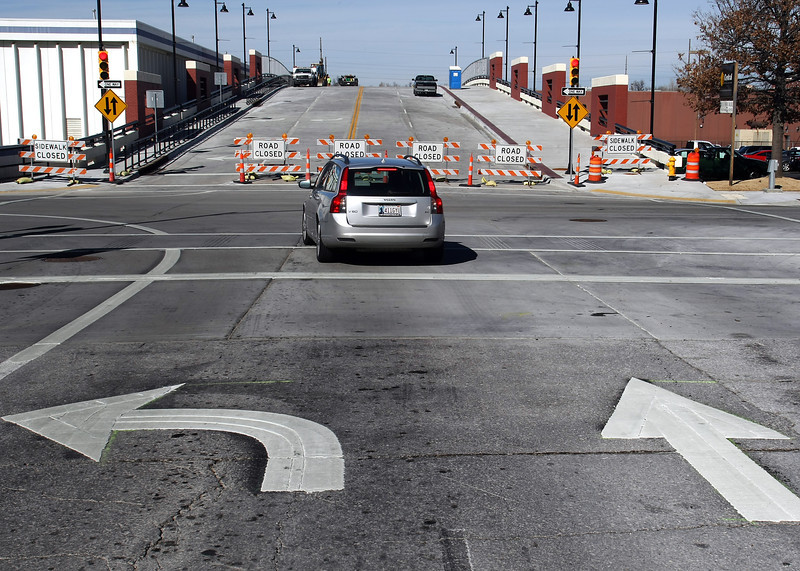 The Boulder Avenue Bridge in downtown Tulsa will be opening on Monday allowing access to the Brady Arts District.